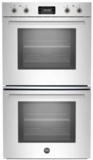 """PROFD30XT Bertazzoni 30""""  Double Wall Oven with 8.2 Total Cu. Ft. Capacity 7 Rack Positions Dual Convection Fan System - Stainless Steel"""
