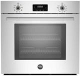 "PROFS30XV Bertazzoni 30"" Single Electric Wall Oven with 4.1 cu. ft. Capacity Dual Diagonal Convection - Stainless Steel"