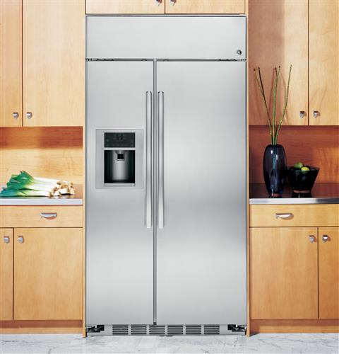 Psb42yshss Ge Profile Series 42 Built In Stainless Side By Refrigerator With External Controls Steel