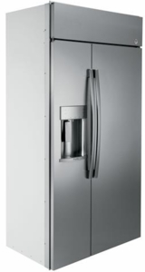 "PSB42YSKSS GE Profile Series 42""  Built-In Side-by-Side Refrigerator with Dispenser - Stainless Steel"