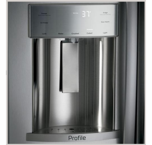 Psb48yskss Ge Profile Series 48 Built In Side By Side Refrigerator With Dispenser Stainless Steel