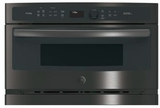 "PSB9100BLTS GE Profile Series Advantium 27"" Wall Oven with 120V Speedcook Technology - Black Stainless Steel"