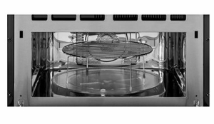 """PSB9100BLTS GE Profile Series Advantium 27"""" Wall Oven with 120V Speedcook Technology - Black Stainless Steel"""