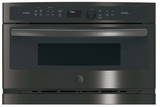 "PSB9120BLTS GE Profile Series Advantium 30"" Wall Oven with 120V Speedcook Technology and Halogen Heat - Black Stainless Steel"