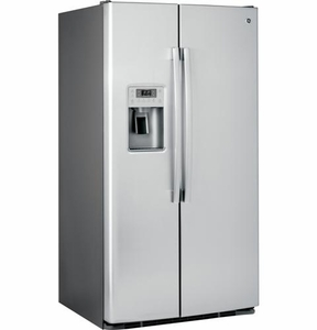 PSS28KSHSS GE Profile Series Energy Star 28.4 Cu. Ft. Side-by-Side Refrigerator with Artica Icemaker - Stainless Steel