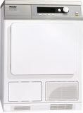 PT7135CWH Miele Little Giant Condenser Dryer with Honeycomb Drum - White