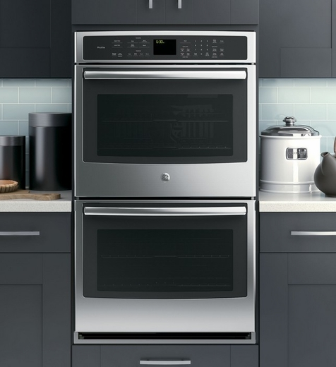 """PT9550SFSS GE Profile Series 30"""" Built-In Double Convection Wall Oven - Stainless Steel"""