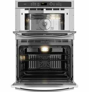 PT9800SHSS GE Profile Series 30 in. Combination Double Wall Oven with Convection and Advantium Technology - Stainless Steel