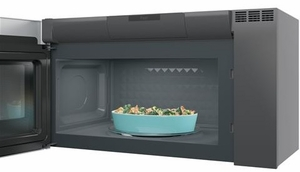 "PVM9005SJSS GE 30"" Profile Series 2.1 Cu. Ft. Over-the-Range Sensor Microwave Oven - Stainless Steel"