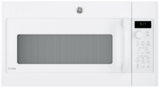 "PVM9179DKWW GE 30"" 1.7 cu. ft. Convection Over-the-Range Microwave with 950 Watts, Chef Connect and Sensor Cooking Controls - White"