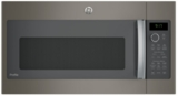 "PVM9179EKES GE 30"" 1.7 cu. ft. Convection Over-the-Range Microwave with 950 Watts, Chef Connect and Sensor Cooking Controls - Slate"