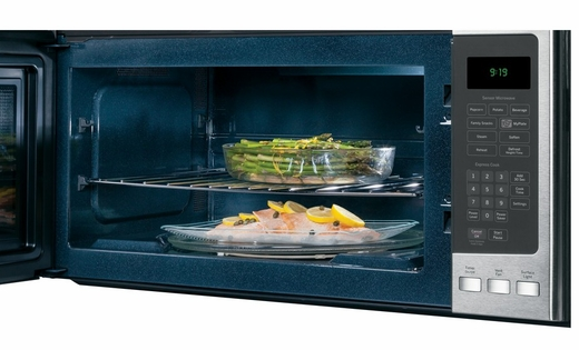 PVM9195SFSS GE Profile Series1.9 cu. ft. Over-the-Range Electric Sensor Microwave Oven - Stainless Steel