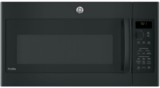 "PVM9215DKBB GE 30"" 2.1 cu. ft. Over-the-Range Microwave with LED Cooktop Lighting and Sensor Cooking Controls - Black"