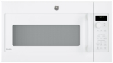"PVM9215DKWW GE 30"" 2.1 cu. ft. Over-the-Range Microwave with LED Cooktop Lighting and Sensor Cooking Controls - White"