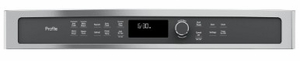 """PWB7030SLSS GE 30"""" Profile Series 1.7 cu. ft. Built-In Microwave/Convection Oven with Convection and Steam Sensor - Stainless Steel"""