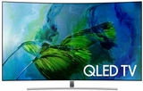 """QN65Q8C Samsung 65"""" Q Series Curved UHD 4K HDR QLED Smart HDTV with - 240 Motion Rate and 3840 x 2160 Resolution"""