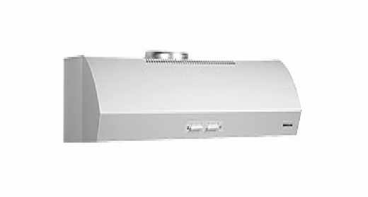 "QP136WW Broan 36"" Evolution Series 1 Under Cabinet Range Hood - White"