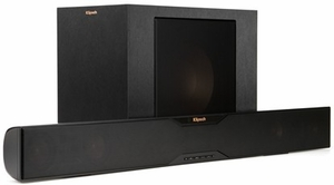R4B Klipsch 2-Way Soundbar with Wireless  Subwoofer