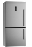 """REF31BMXL Bertazzoni 31"""" Freestanding Bottom Mount Left Hinge Refrigerator with Total No Frost System and Touch-Control Interface - Fingerprint Resistant Stainless Steel"""