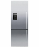 RF135BDLUX4N Fisher & Paykel ActiveSmart Fridge - 13.5 cu. ft. Counter Depth Bottom Freezer - Left Hinge - Stainless Steel