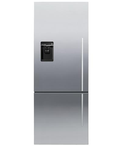 RF135BDLUX4 Fisher & Paykel ActiveSmart Fridge - 13.5 cu. ft. Counter Depth Bottom Freezer - Left Hinge - Stainless Steel