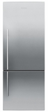 RF135BDLX4N Fisher & Paykel ActiveSmart Fridge - 13.5 cu. ft. Counter Depth Bottom Freezer - Left Hinge - Stainless Steel