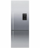 RF135BDRUX4N Fisher & Paykel ActiveSmart Fridge - 13.5 cu. ft. Counter Depth Bottom Freezer - Right Hinge - Stainless Steel