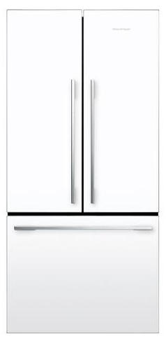 RF170ADW5 Fisher & Paykel ActiveSmart Fridge 17 cu. ft. Counter Depth French Door - White