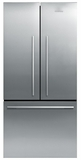 RF170ADX4N Fisher Paykel ActiveSmart Refrigerator - 17 cu. ft. Counter Depth French Door - EZKleen Stainless Steel
