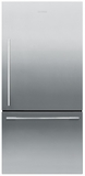 RF170WDRX5N Fisher & Paykel ActiveSmart Fridge - 17 cu. ft. Counter Depth Bottom Freezer Refrigerator - Right Hinge - EZKleen Stainless Steel