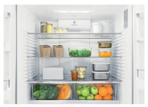 """RF201ACJSX1N Fisher & Paykel 36""""  French Door Counter Depth Refrigerator with ActiveSmart Technology - Stainless Steel"""