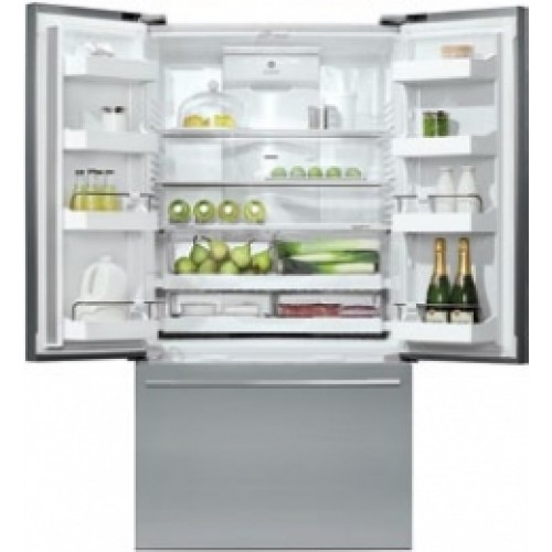 "RF201ADUSX5N Fisher & Paykel ActiveSmart 20.1 Cu. Ft. Counter Depth 36"" French Door Refrigerator  - Stainless Steel"