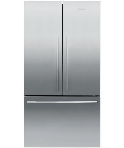 "RF201ADX5N Fisher Paykel ActiveSmart 20.1 Cu. Ft. Counter Depth 36"" French Door Refrigerator - Stainless Steel"