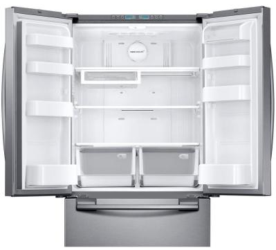 Rf20hfenbsr Samsung 33 Quot Wide 20 Cu Ft Capacity French