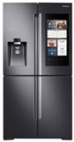 "RF22M9581SG Samsung 36"" 22 cu. ft. Counter Depth 4-Door Flex Food Showcase Refrigerator with FlexZone and Triple Cooling System - Black Stainless Steel"