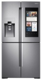 "RF22M9581SR Samsung 36"" 22 cu. ft. Counter Depth 4-Door Flex Food Showcase Refrigerator with FlexZone and Triple Cooling System - Stainless Steel"