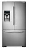 "RF23HTEDBSR Samsung 36""-Wide, 23 cu. ft. Capacity Counter Depth 3-Door Food ShowCase Refrigerator - Stainless Steel"