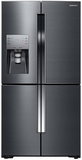 "RF23J9011SG Samsung 23 cu. ft. Capacity 36"" Counter Depth 4-Door Flex French Door Refrigerator with Cool Select Plus - Black Stainless Steel"