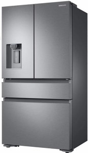 "RF23M8070SR Samsung 36"" 22.7 cu. ft. Counter Depth French 4 Door Refrigerator with Twin Cooling Plus and FlexZone Drawer - Stainless Steel"