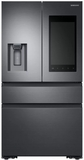 "RF23M8570SG Samsung 36"" 22.2 cu. ft. Counter Depth 4 Door Refrigerator with Family Hub 2.0 and Twin Cooling Plus - Black Stainless Steel"