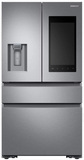 "RF23M8570SS Samsung 36"" 22.2 cu. ft. Counter Depth 4 Door Refrigerator with Family Hub 2.0 and Twin Cooling Plus - Stainless Steel"