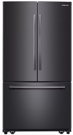RF260BEAESG Samsung 25.5 cu. ft. French Door Refrigerator with Filtered Ice Maker - Black Stainless Steel