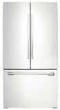 RF261BEAEWW Samsung 25.6 Cu. Ft French Door Refrigerator - White