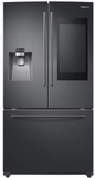 "RF265BEAESG Samsung 36"" 24.2 cu. ft. French Door Flex Refrigerator with Family Hub 2.0 and Twin Cooling Plus - Black Stainless Steel"