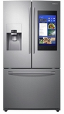 "RF265BEAESR Samsung 36"" 24.2 cu. ft. French Door Flex Refrigerator with Family Hub 2.0 and Twin Cooling Plus - Stainless Steel"