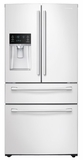 "RF28HMEDBWW Samsung 36"" 28 cu. ft. 4-Door French Door Refrigerator - Stainless Steel"