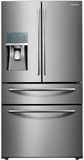 RF28JBEDBSR Samsung 28 Cu. Ft. 4-Door French Door Refrigerator with Food ShowCase Fridge Door - Stainless Steel