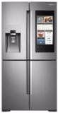 "RF28M9580SR Samsung 36"" 27.9 cu. ft.  French Door Refrigerator with Family Hub? and Built-In Cameras - Stainless Steel"