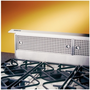 """RMDD3004EX Broan 30"""" Downdraft Hood with Dishwasher Safe Filters and Compact Design - Stainless Steel"""