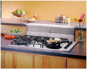 """RMDD3604 Broan 36"""" Downdraft Hood with 500 CFM Internal Blower and Compact Design - Stainless Steel"""